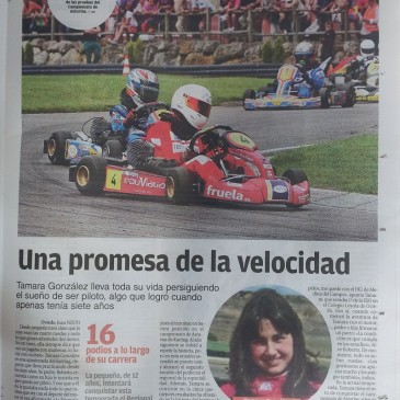 Entrevista en La Nueva España.