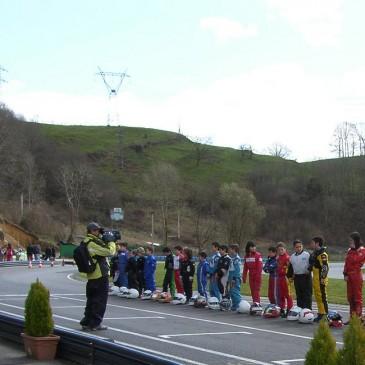 Primera prueba del Campeonato de Asturias
